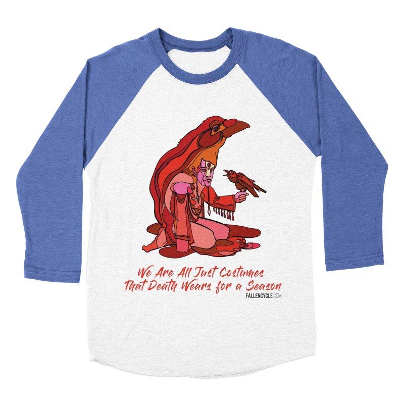 Eluane, the Raven Wanderer Women's Baseball Triblend Longsleeve T-Shirt by The Fallen Cycle: Merch