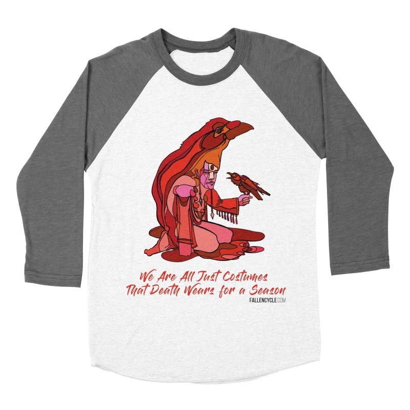 Eluane, the Raven Wanderer Men's Baseball Triblend Longsleeve T-Shirt by The Fallen Cycle: Merch