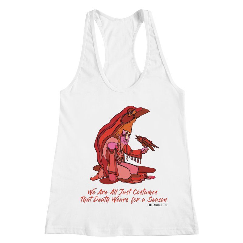 Eluane, the Raven Wanderer Women's Racerback Tank by The Fallen Cycle: Merch
