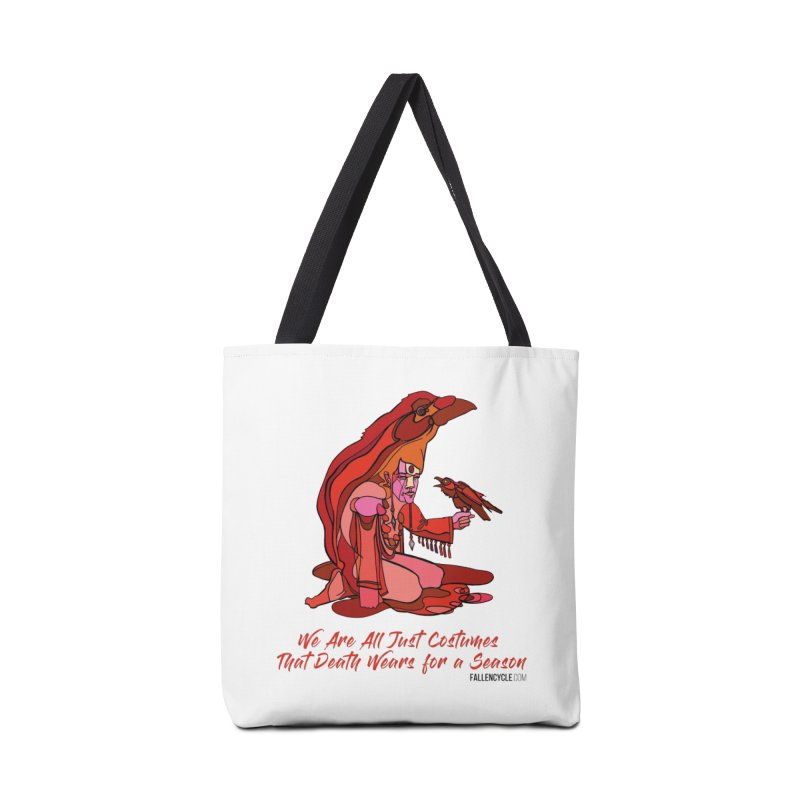 Eluane, the Raven Wanderer Accessories Tote Bag Bag by The Fallen Cycle: Merch