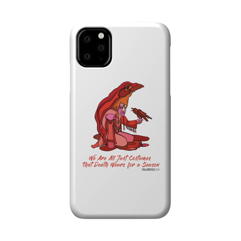 Eluane, the Raven Wanderer Accessories Phone Case by The Fallen Cycle: Merch