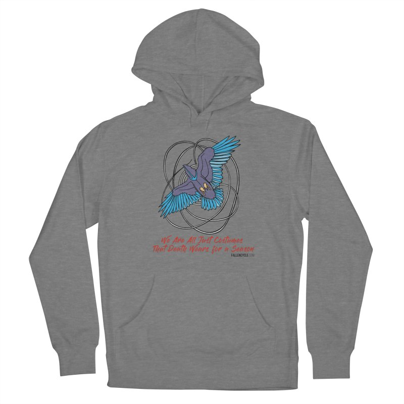Raven Women's French Terry Pullover Hoody by The Fallen Cycle: Merch