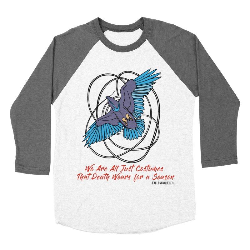 Raven Women's Baseball Triblend Longsleeve T-Shirt by The Fallen Cycle: Merch