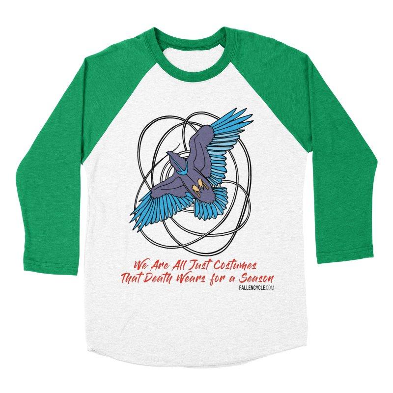 Raven Men's Baseball Triblend Longsleeve T-Shirt by The Fallen Cycle: Merch