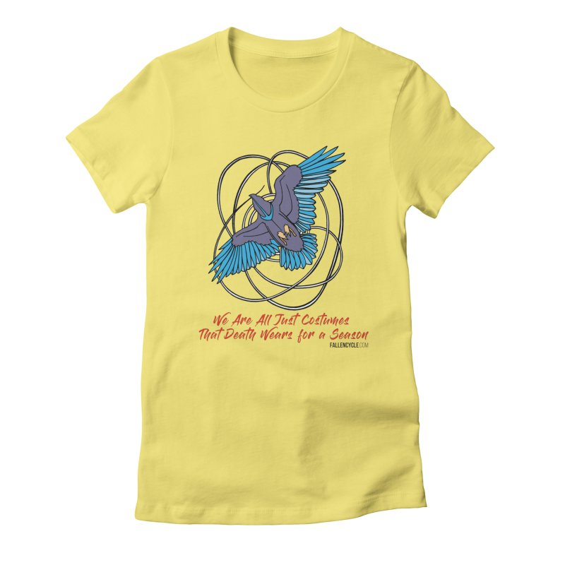 Raven Women's T-Shirt by The Fallen Cycle: Merch