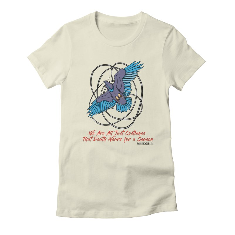 Raven Women's Fitted T-Shirt by The Fallen Cycle: Merch