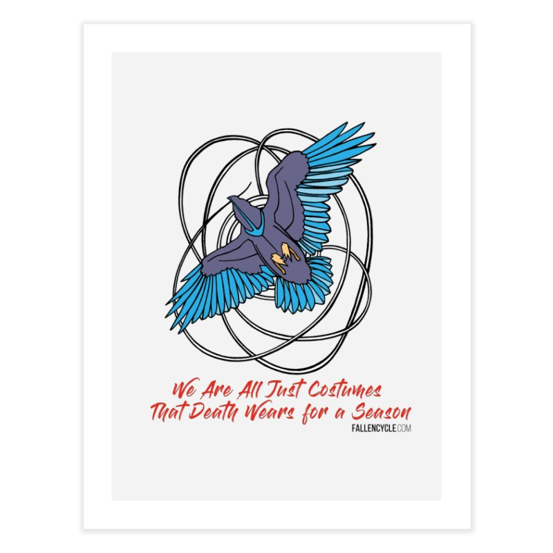 Raven Home Fine Art Print by The Fallen Cycle: Merch