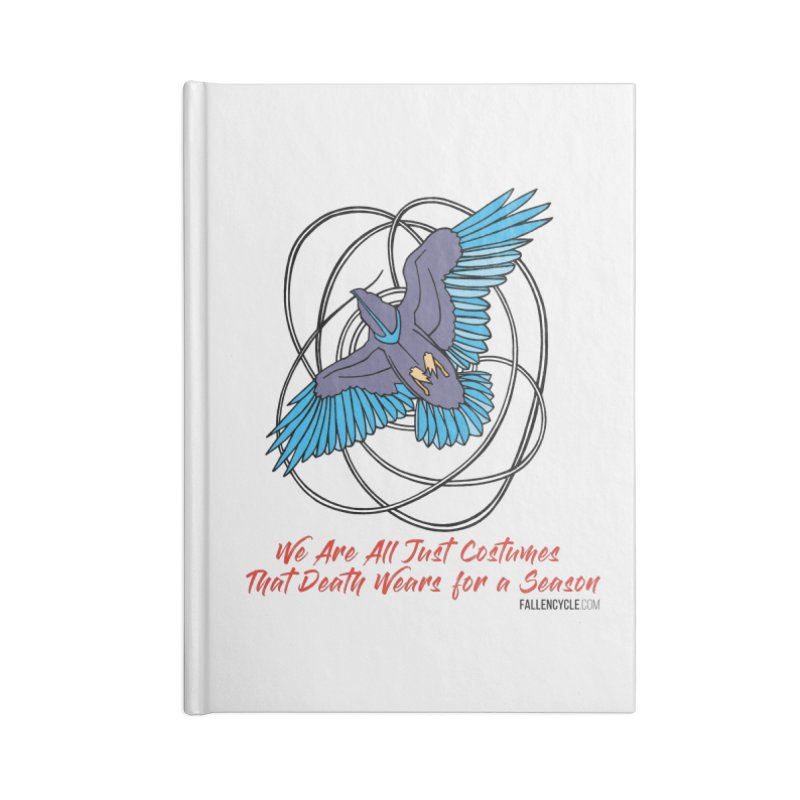 Raven Accessories Lined Journal Notebook by The Fallen Cycle: Merch