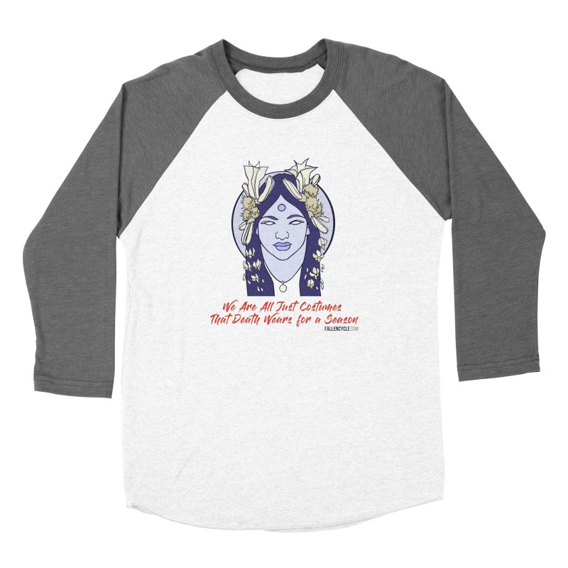 Nyssa Women's Baseball Triblend Longsleeve T-Shirt by The Fallen Cycle: Merch