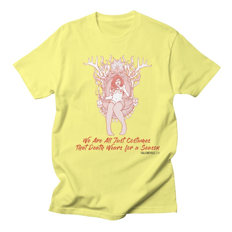 Lilith, Bone Throne Men's Regular T-Shirt by The Fallen Cycle: Merch