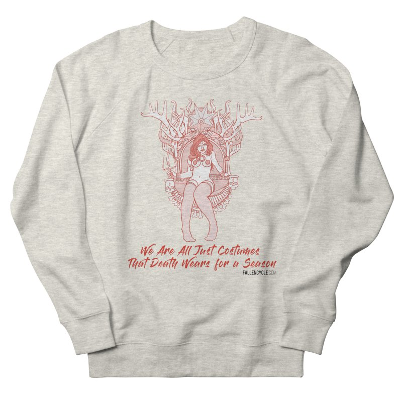 Lilith, Bone Throne Men's French Terry Sweatshirt by The Fallen Cycle: Merch