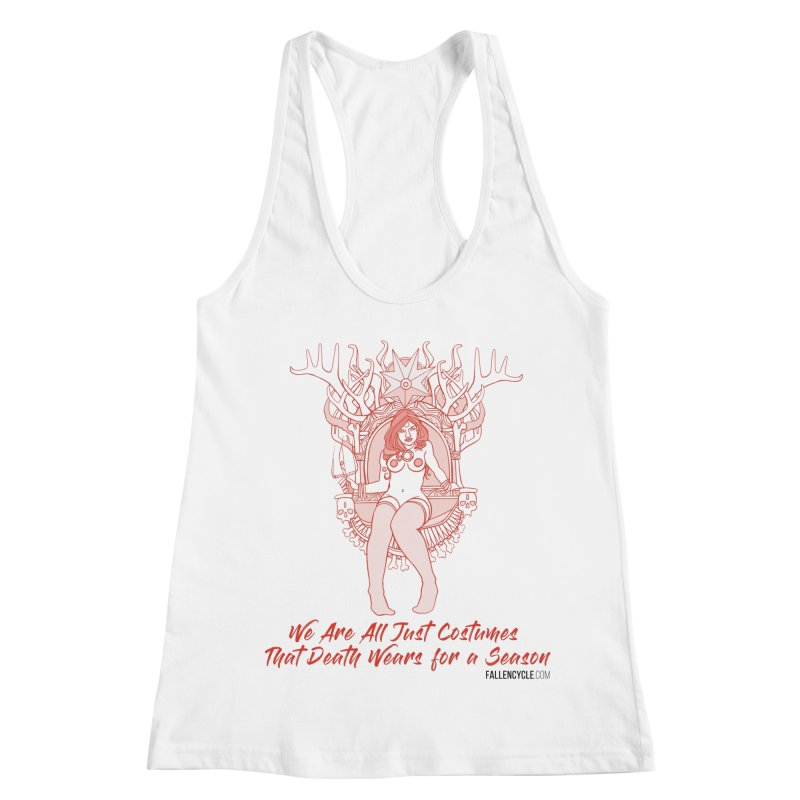 Lilith, Bone Throne Women's Racerback Tank by The Fallen Cycle: Merch