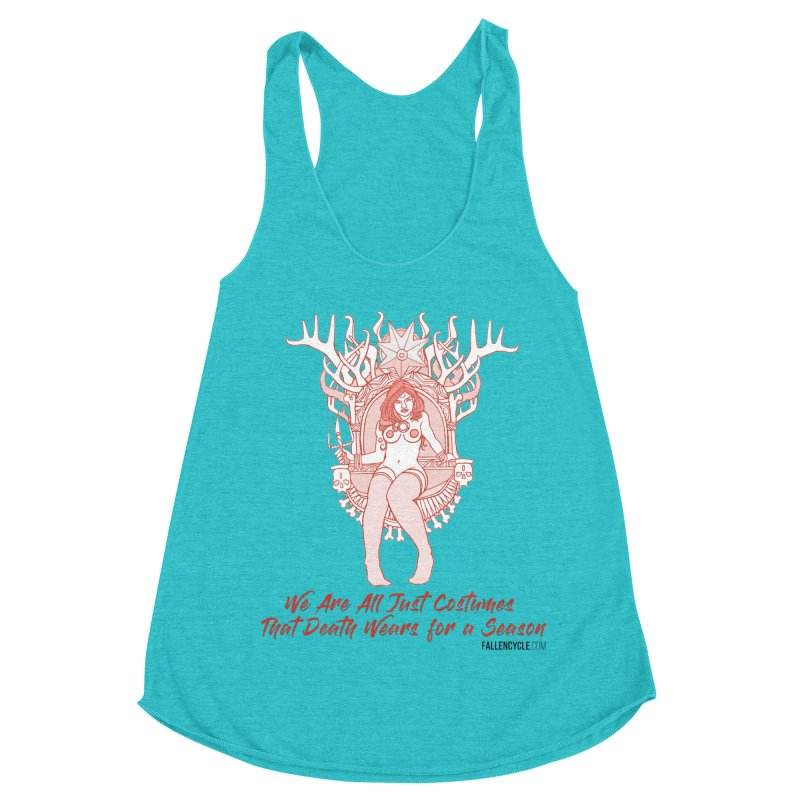 Lilith, Bone Throne Women's Racerback Triblend Tank by The Fallen Cycle: Merch