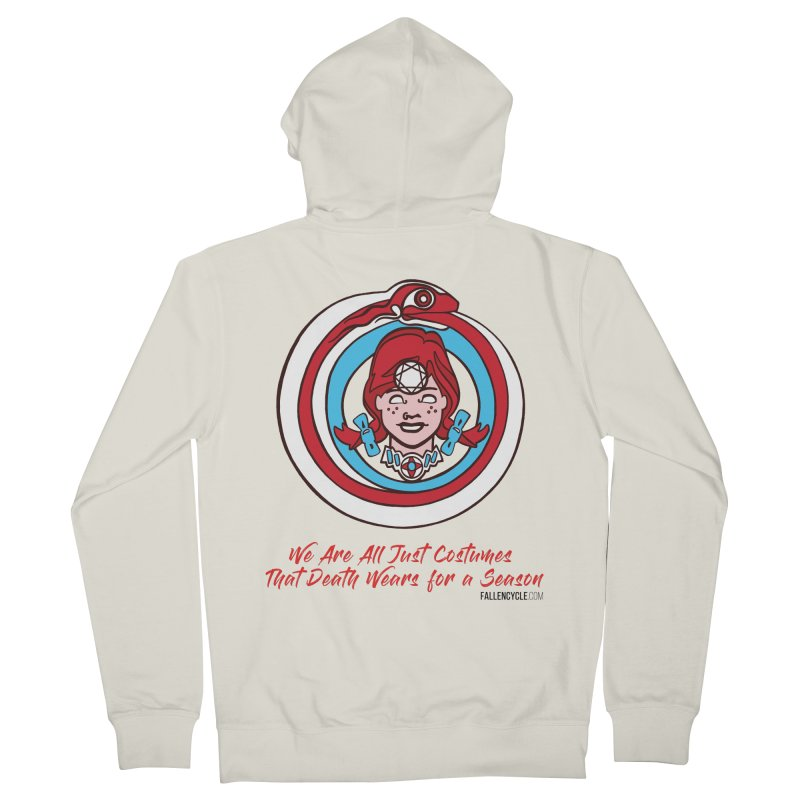 Lilly's Men's French Terry Zip-Up Hoody by The Fallen Cycle: Merch