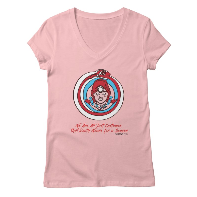 Lilly's Women's Regular V-Neck by The Fallen Cycle: Merch