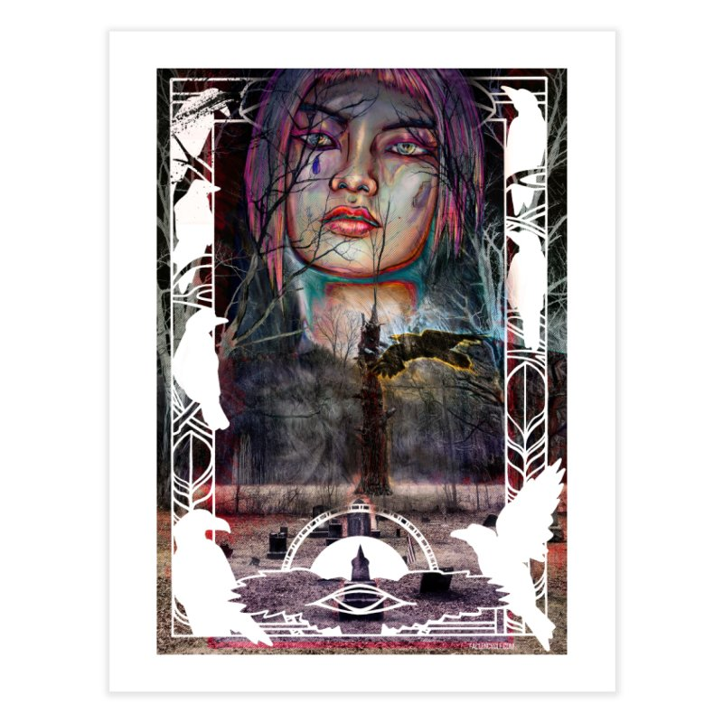 The Shaman's Granddaughter Home Fine Art Print by The Fallen Cycle: Merch