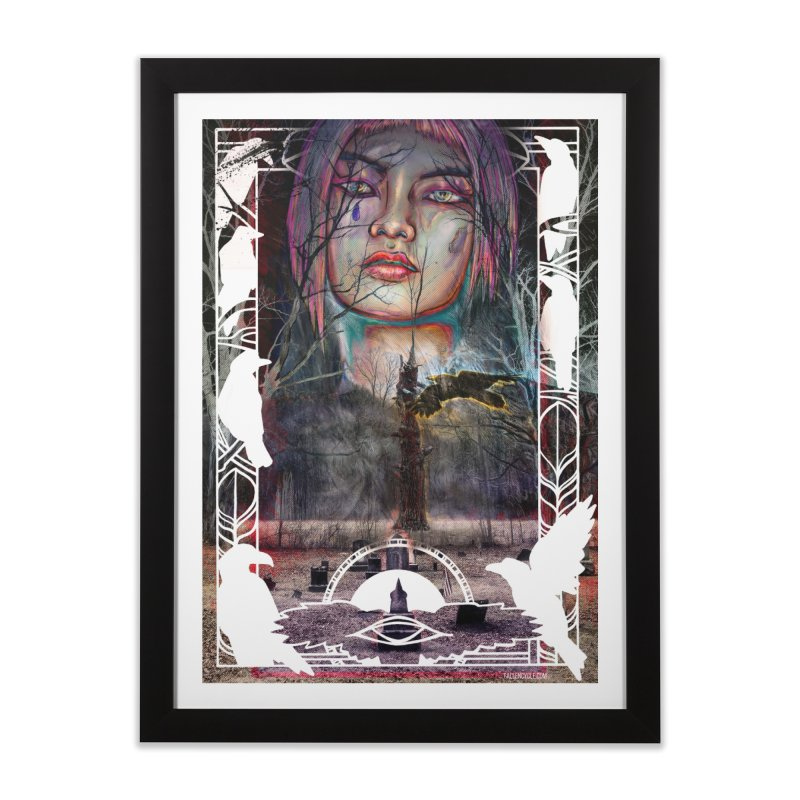 The Shaman's Granddaughter Home Framed Fine Art Print by The Fallen Cycle: Merch