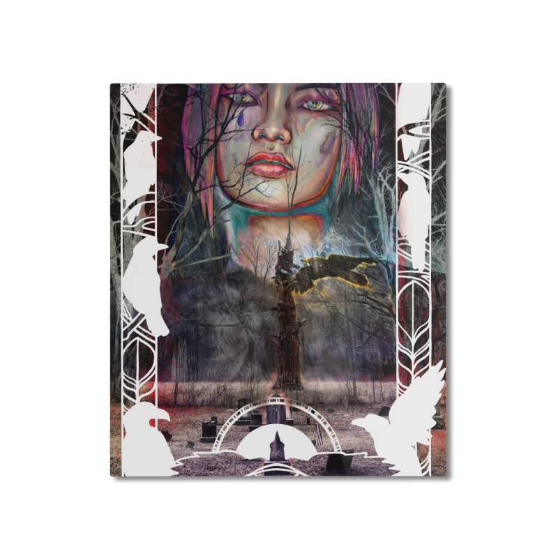 The Shaman's Granddaughter Home Mounted Aluminum Print by The Fallen Cycle: Merch