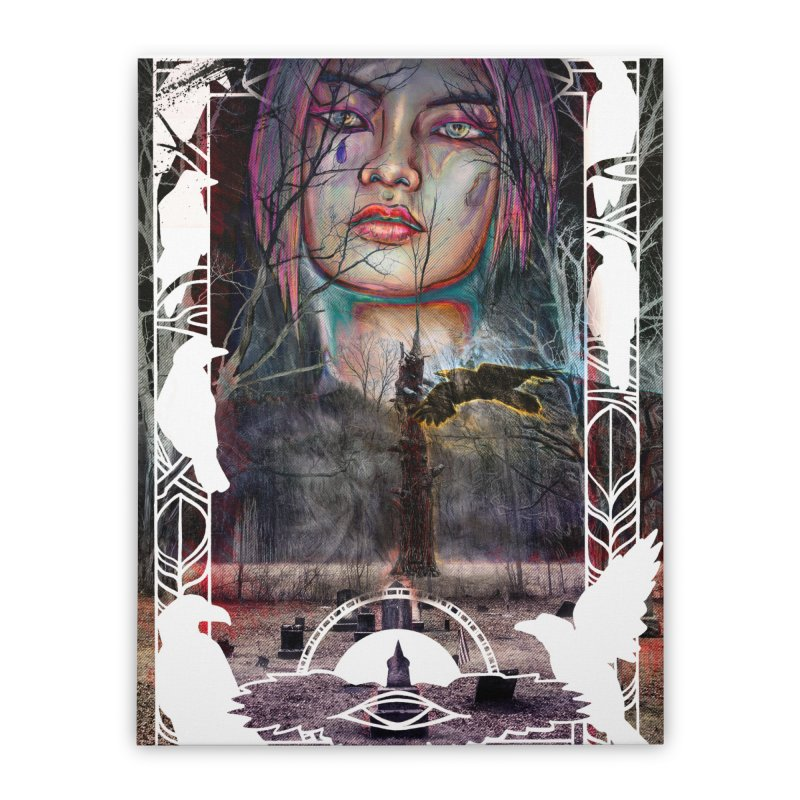 The Shaman's Granddaughter Home Stretched Canvas by The Fallen Cycle: Merch
