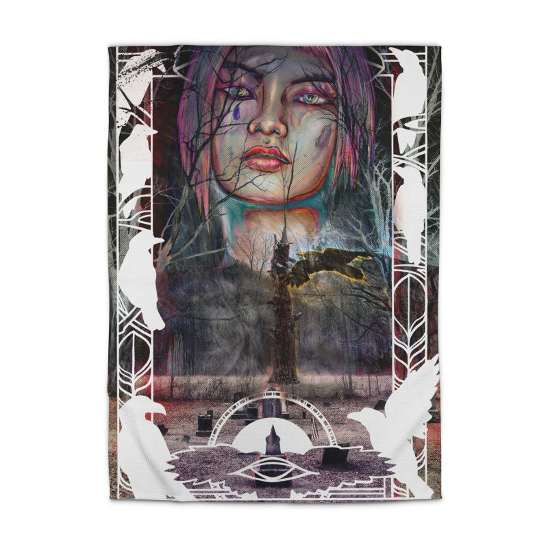 The Shaman's Granddaughter Home Rug by The Fallen Cycle: Merch