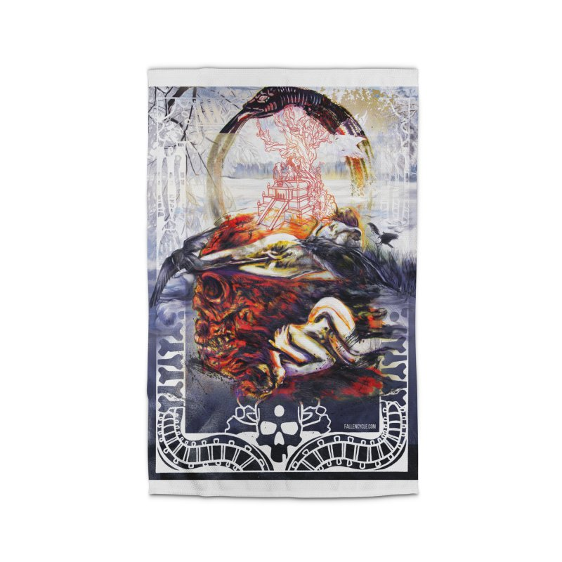 Visions of the Summer Tree Home Rug by The Fallen Cycle: Merch