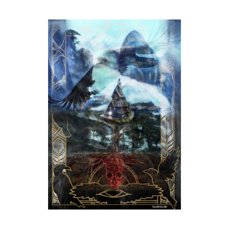 Journey to the House of Bones Accessories Notebook by The Fallen Cycle: Merch