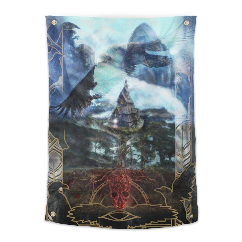 Journey to the House of Bones Home Tapestry by The Fallen Cycle: Merch