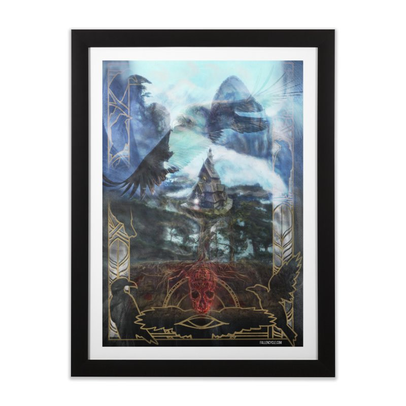 Journey to the House of Bones Home Framed Fine Art Print by The Fallen Cycle: Merch