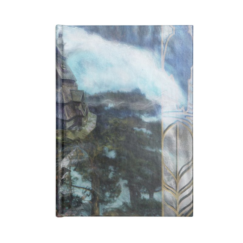 Journey to the House of Bones Accessories Lined Journal Notebook by The Fallen Cycle: Merch