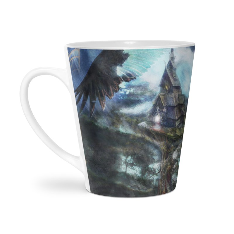 Journey to the House of Bones Accessories Latte Mug by The Fallen Cycle: Merch