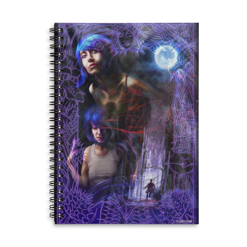 The Spring Tree Returns Accessories Lined Spiral Notebook by The Fallen Cycle: Merch