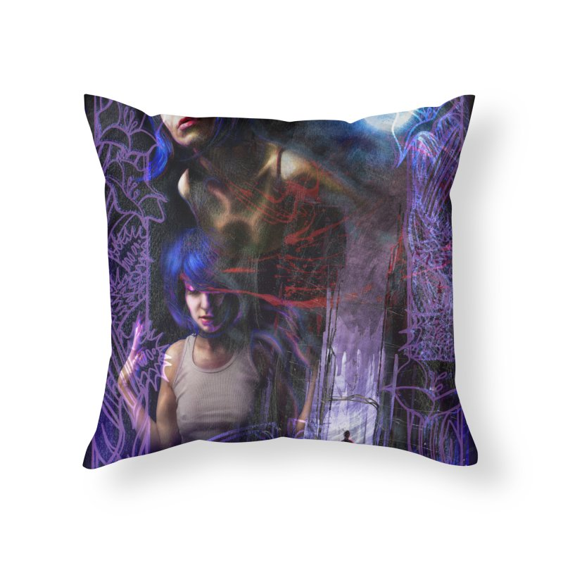 The Spring Tree Returns Home Throw Pillow by The Fallen Cycle: Merch
