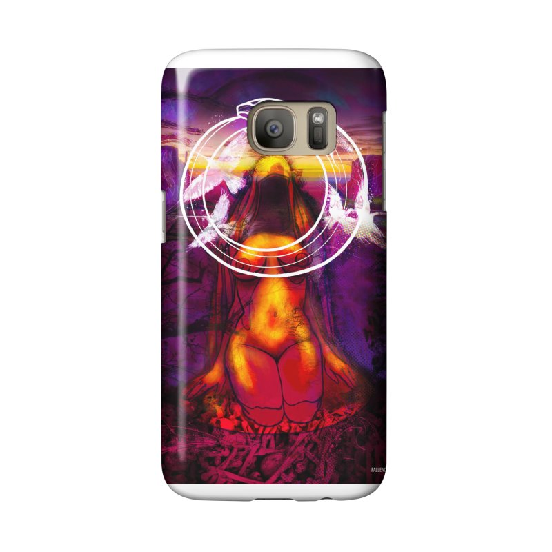 The Sisters Painting Accessories Phone Case by The Fallen Cycle: Merch