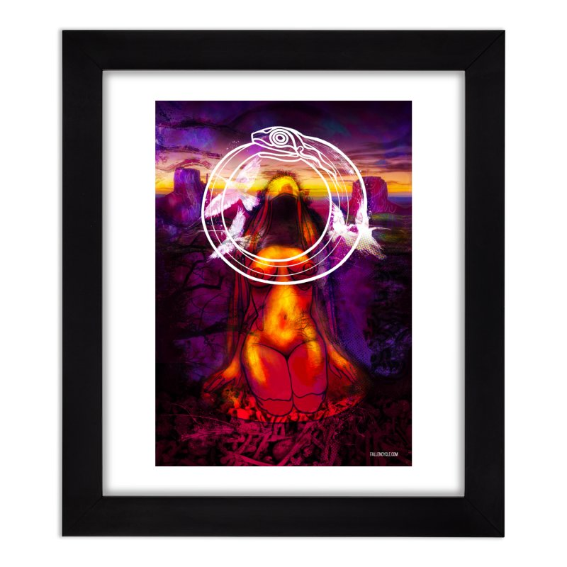 The Sisters Painting Home Framed Fine Art Print by The Fallen Cycle: Merch