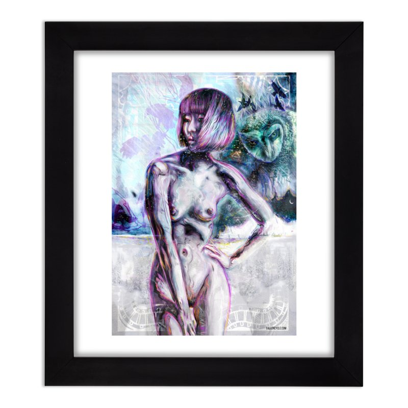 The Owl Home Framed Fine Art Print by The Fallen Cycle: Merch