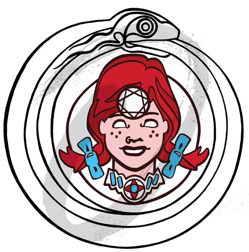 The Fallen Cycle: Merch Logo