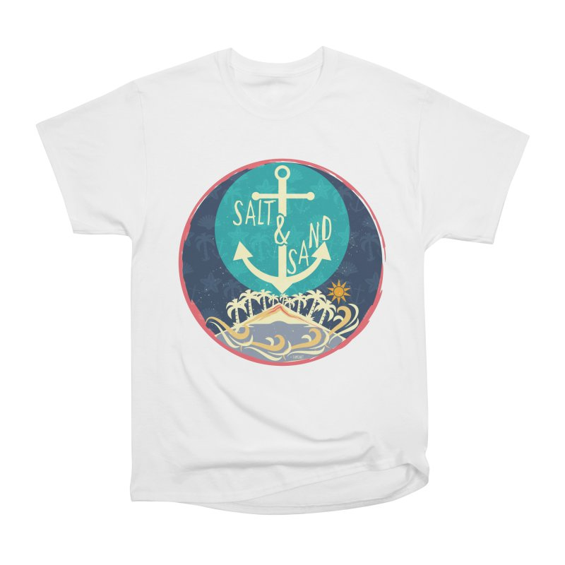 Beach Salt and Sand Women's Classic Unisex T-Shirt by Famenxt