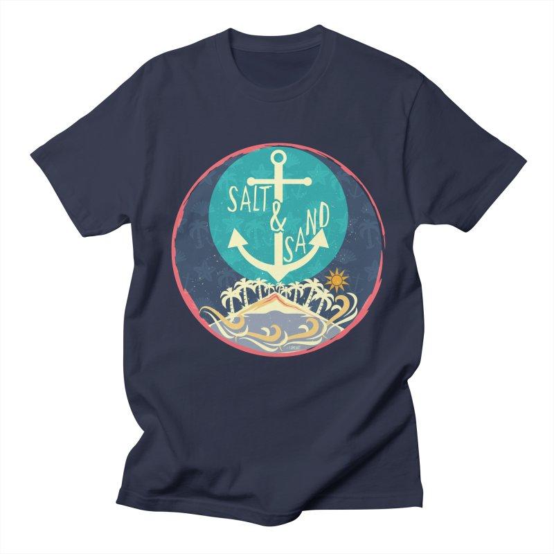 Beach Salt and Sand Men's T-shirt by Famenxt