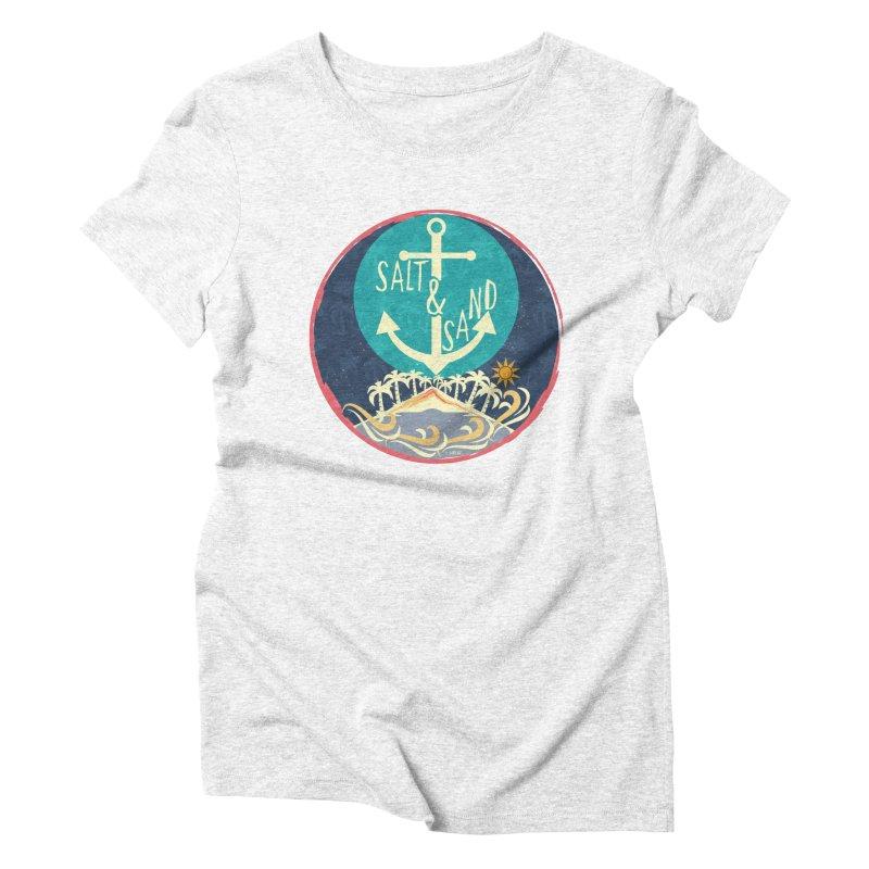 Beach Salt and Sand Women's Triblend T-shirt by Famenxt