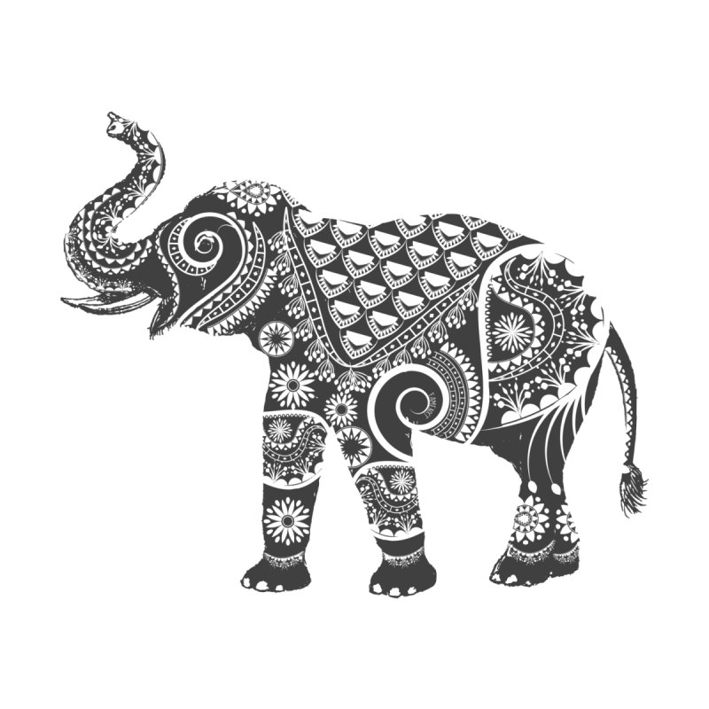 Ornate Indian Elephant None  by Famenxt