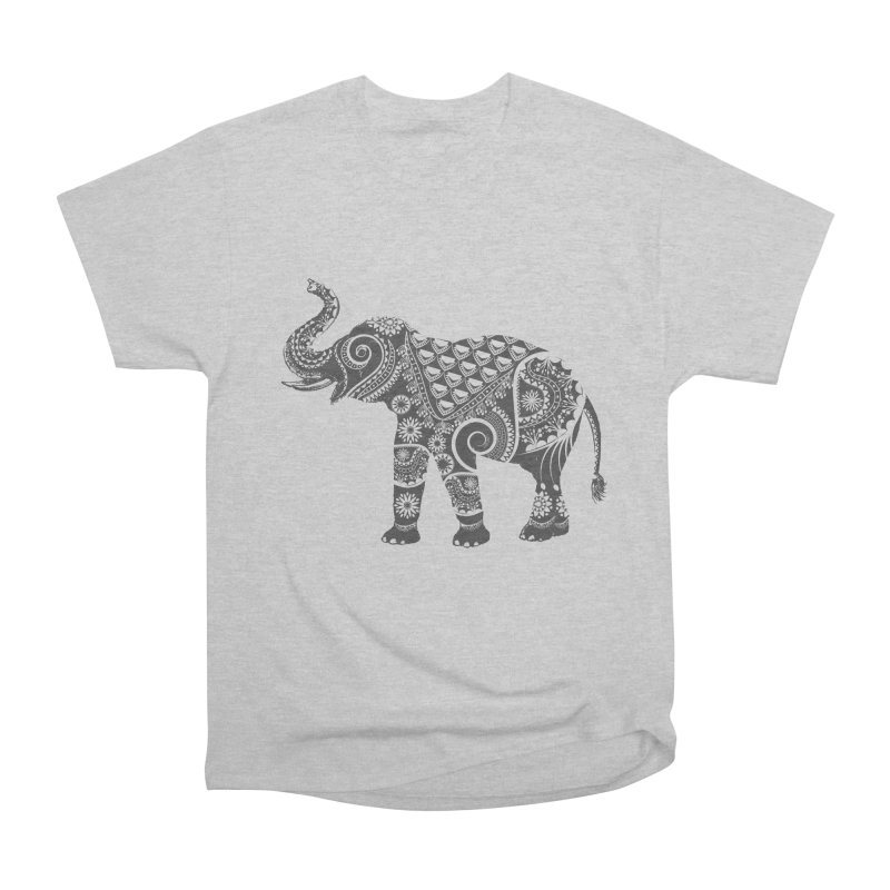 Ornate Indian Elephant Women's Classic Unisex T-Shirt by Famenxt