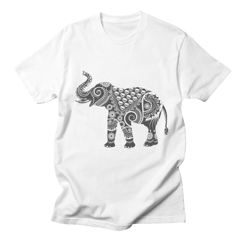 Ornate Indian Elephant Men's T-shirt by Famenxt