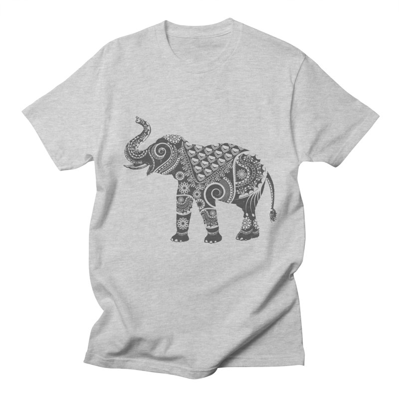 Ornate Indian Elephant Men's T-shirt by Famenxt