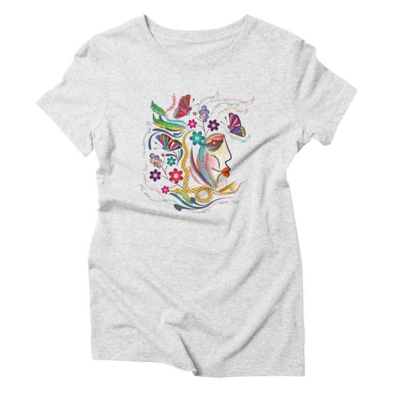 Dark Fantasy Women's Triblend T-shirt by Famenxt