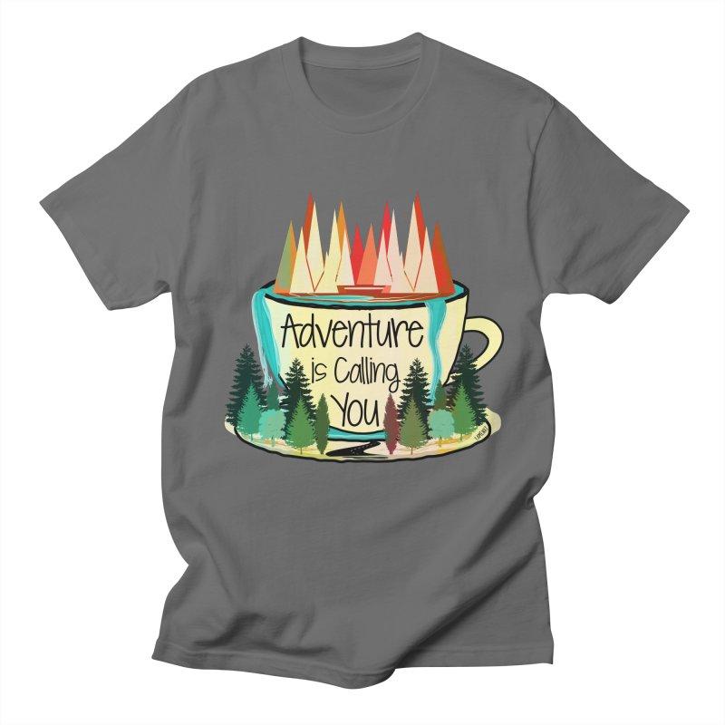 Adventure Is Calling Men's T-Shirt by Famenxt