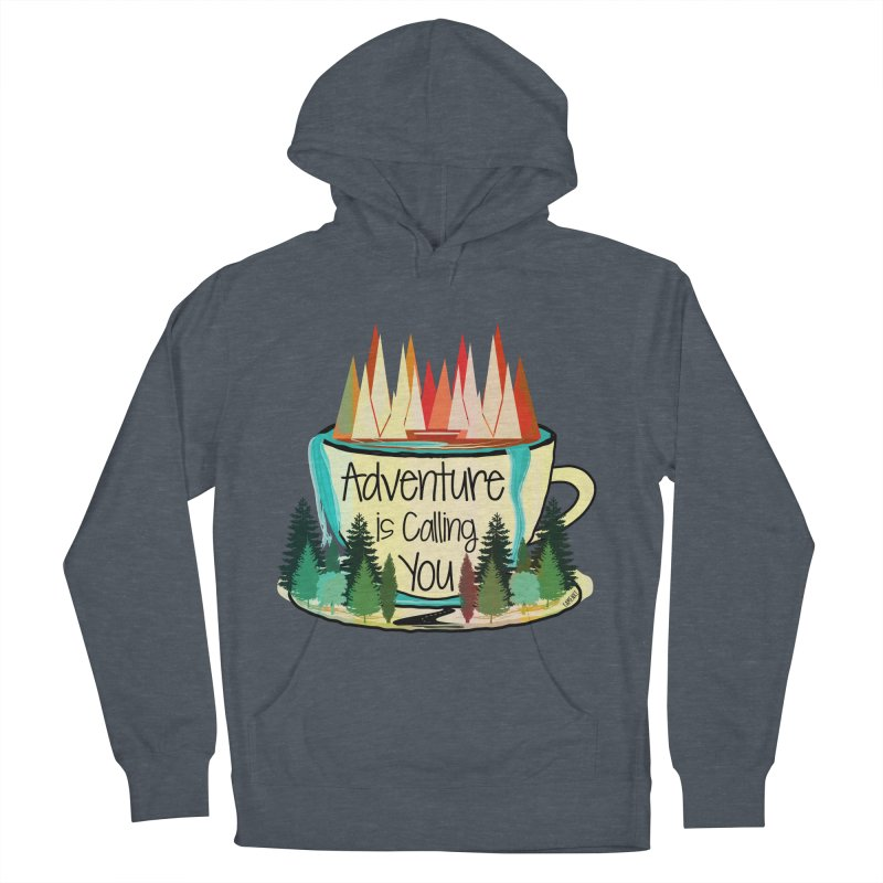 Adventure Is Calling Men's French Terry Pullover Hoody by Famenxt