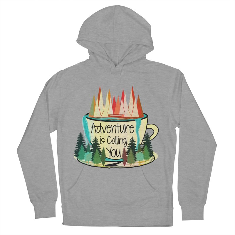 Adventure Is Calling Men's Pullover Hoody by Famenxt