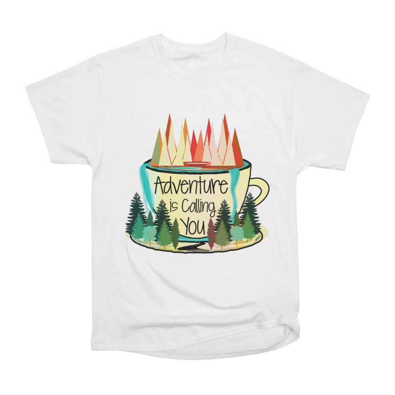 Adventure Is Calling Women's Classic Unisex T-Shirt by Famenxt
