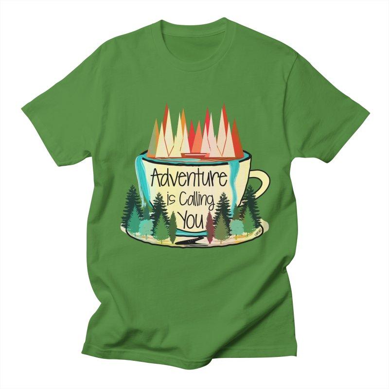 Adventure Is Calling Men's Regular T-Shirt by Famenxt