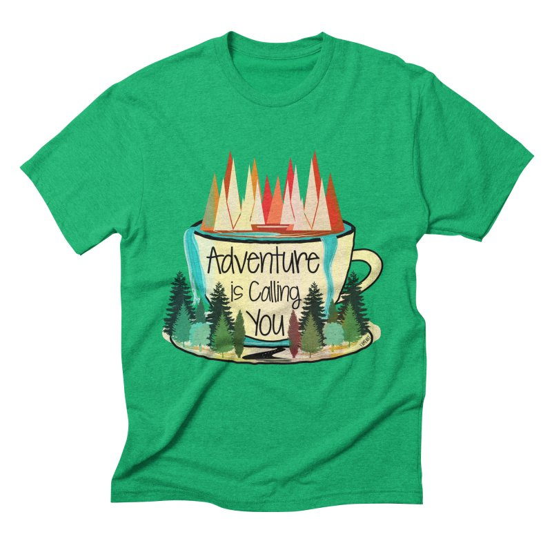 Adventure Is Calling Men's Triblend T-Shirt by Famenxt